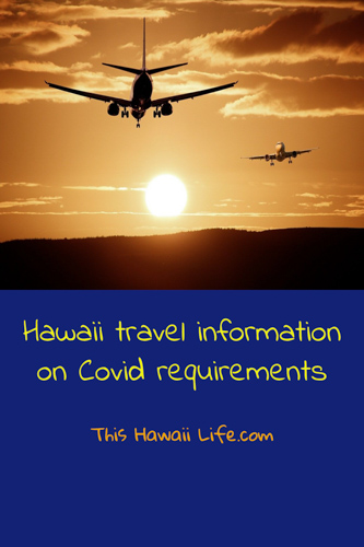 hawaii information on covid requirements