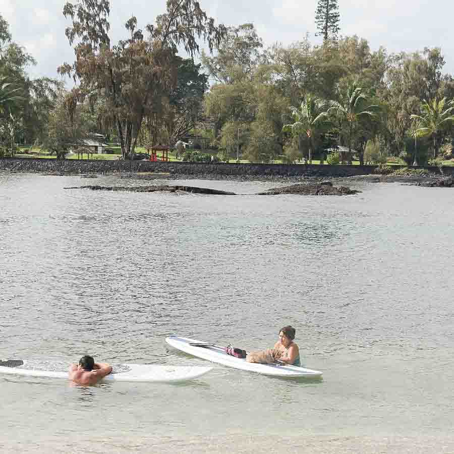 You can also rent kayaks and sup boards close by on Banyan drive