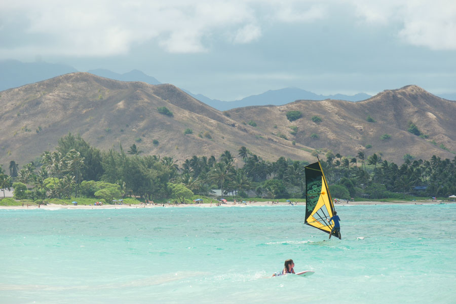 What is the weather like in Kailua?