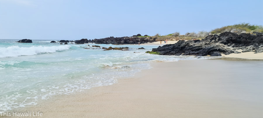 Kua Bay in the Big Island: A scenic drive to Manini'owali Beach
