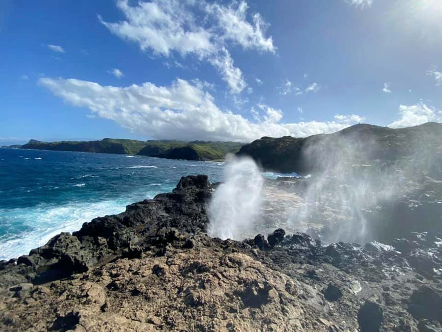 Check out the Nakalele Blowhole