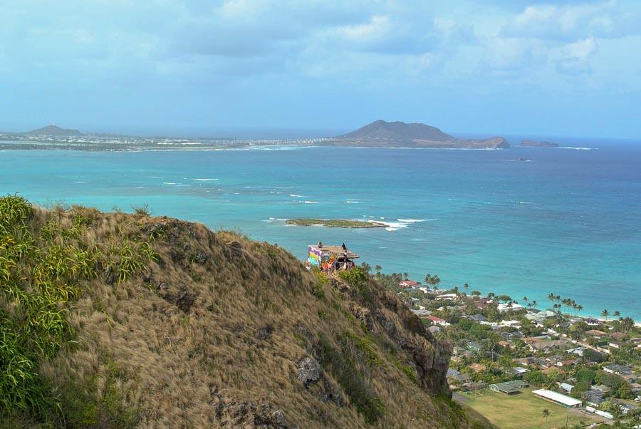 Lanikai Pill Box hike in Kailua area