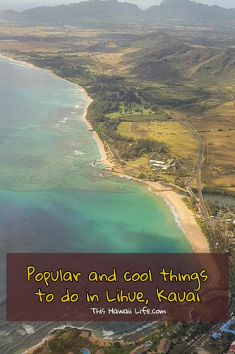 Things to do in Lihue pinterest image