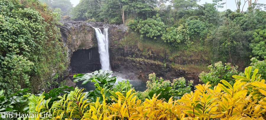 How to get to Rainbow falls?