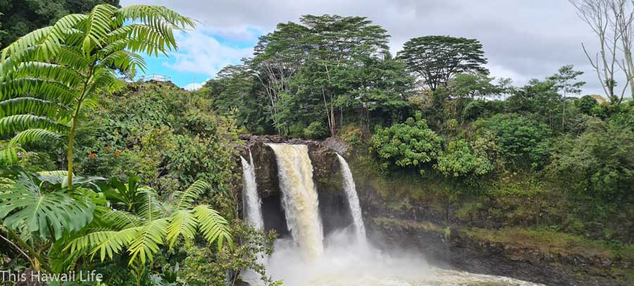 About Rainbow falls
