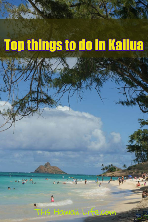 Top things to see Kailua Pinterest image