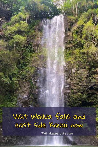 Visit Wailua falls and east side kauai now