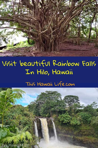 Conclusion on Rainbow falls in Hilo pinterest pin