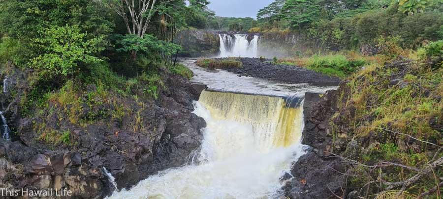 Wai'ale Falls at the Wailuku River State Park