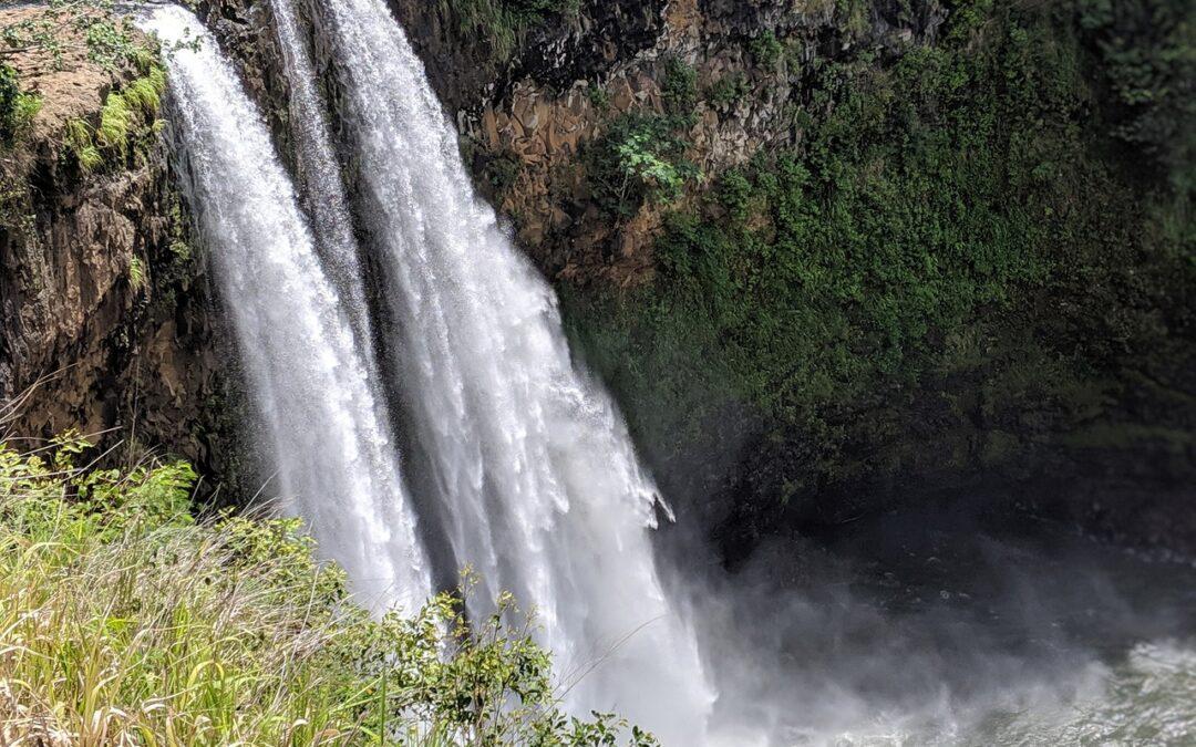 Visiting Wailua Falls