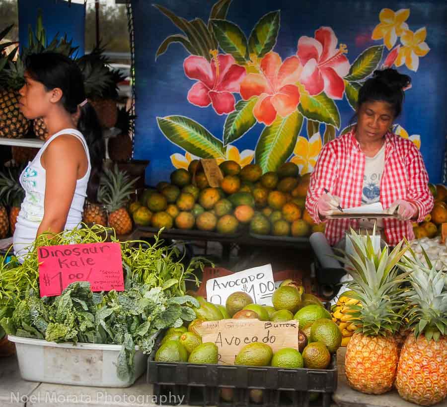 Fresh tropical Hawaiian fruit is soooo good in season