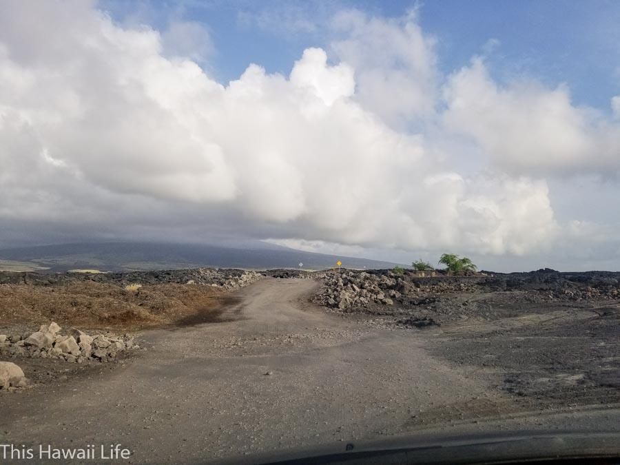 How to get to Makalawena Beach from Mahaiula beach side