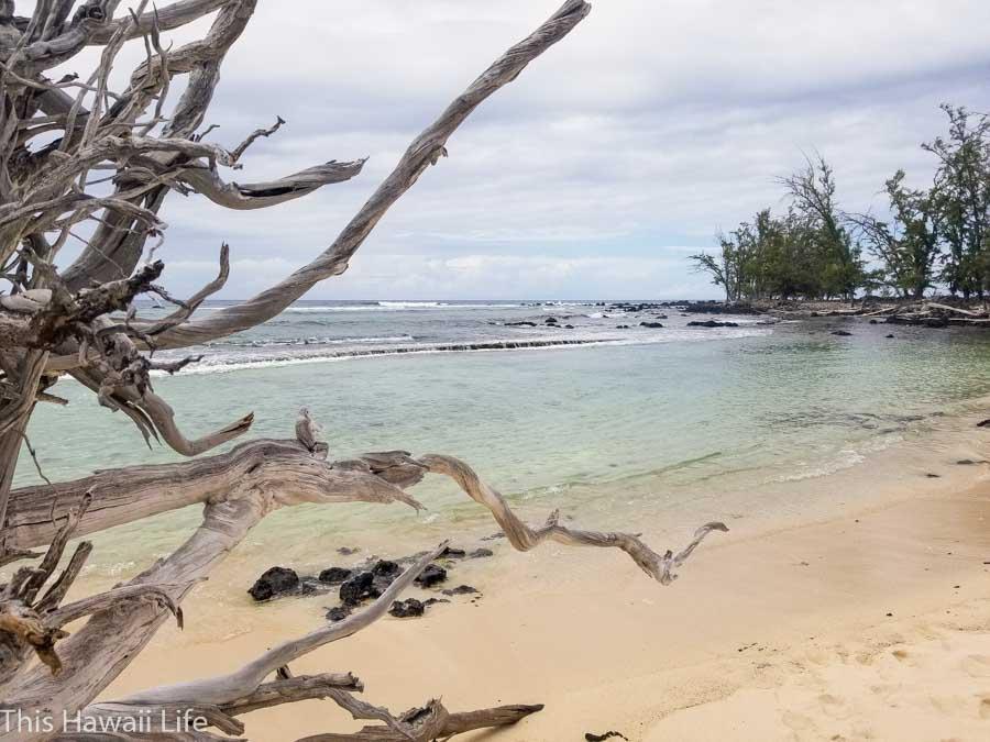 Getting to Makalawena through the Kua Bay side