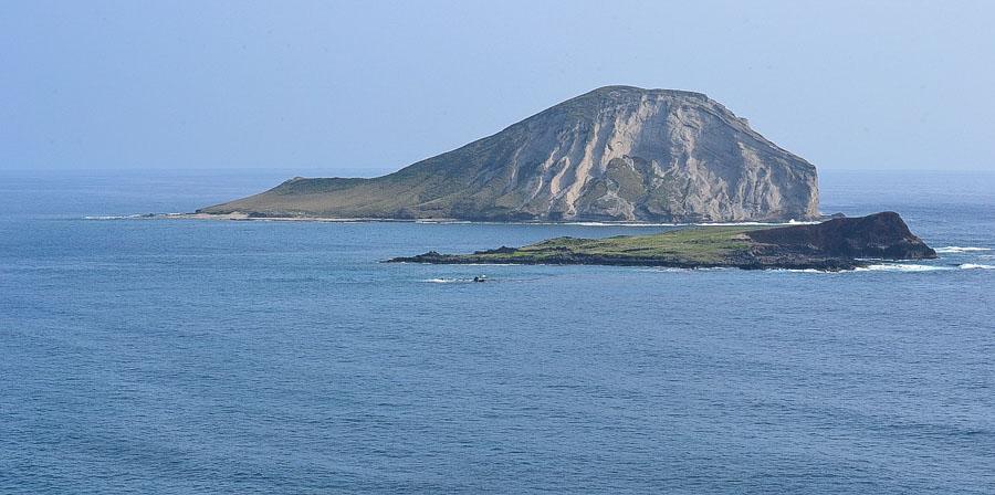 Rabbit / Manana island views from Waimanalo beach