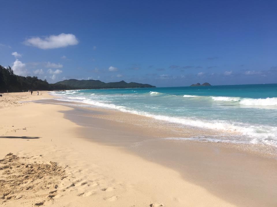 Where's Waimanalo Beach located?