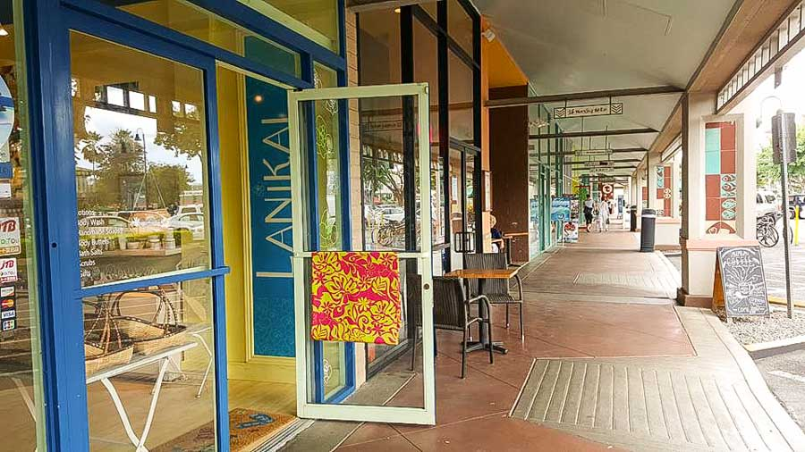 Go shopping in Kailua