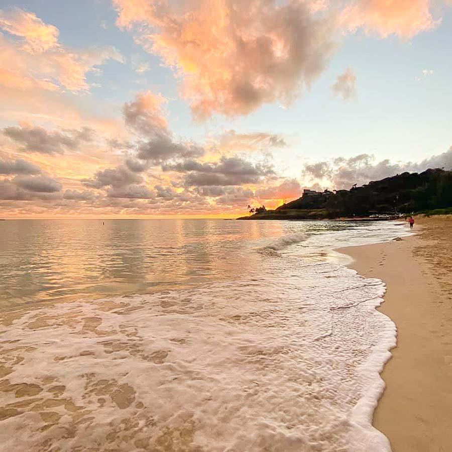 Enjoy Sunrise on the windward side