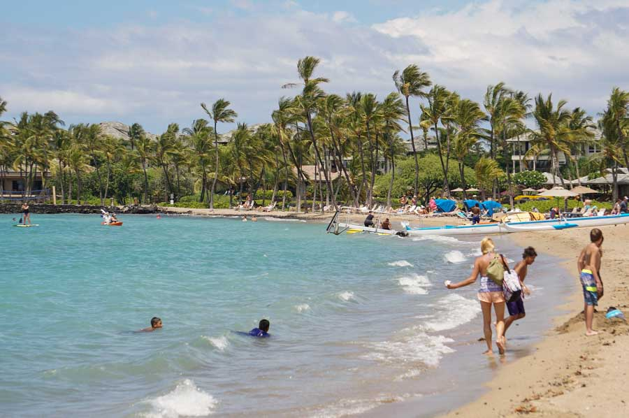Outdoor recreation and adventure at Waikoloa Village