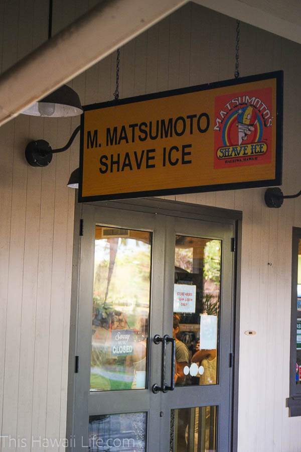 Get some Shave Ice as Matsumotos