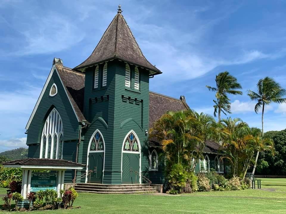 Beautiful Hanalei Church