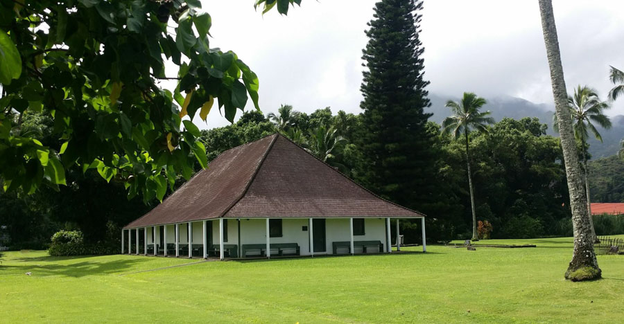 Visit the Waioli Mission House and Church
