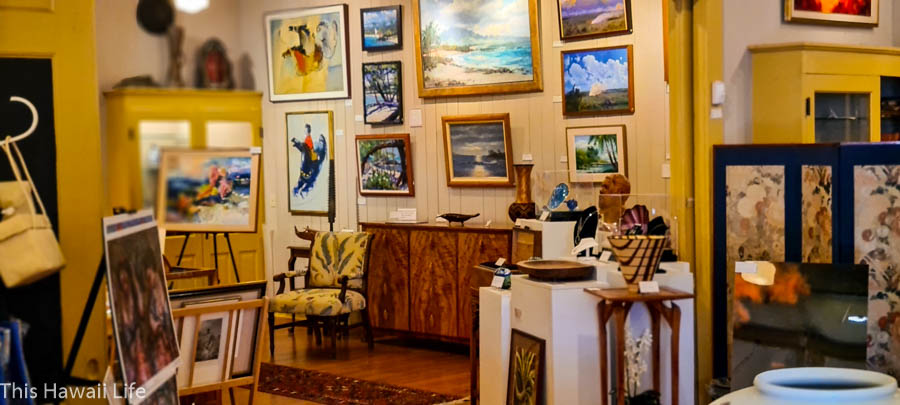 Check out the art galleries in town