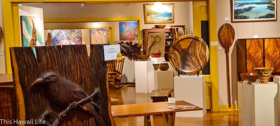 Isaac Art Center Waimea