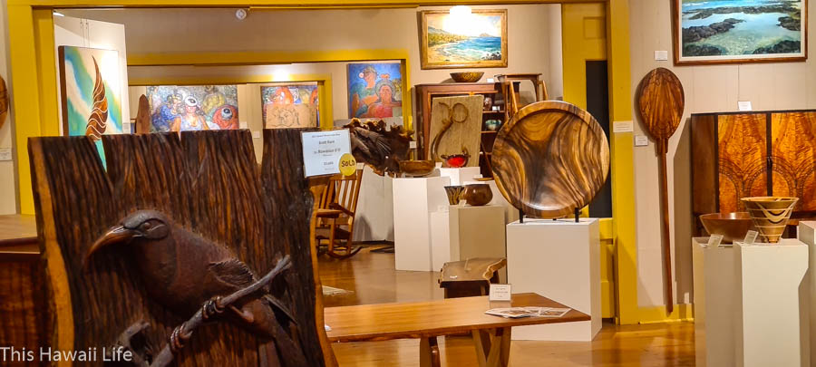 Visiting the Isaak Art Center – A must visit Museum and Gallery in the heart of Waimea