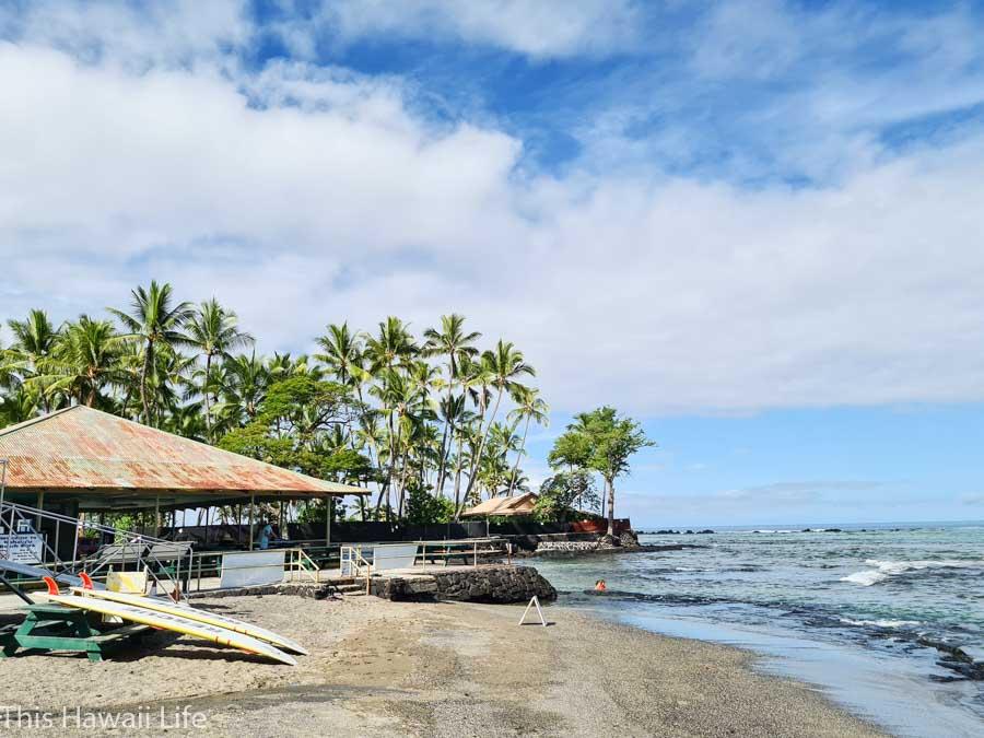 History or Kahalu'u Beach