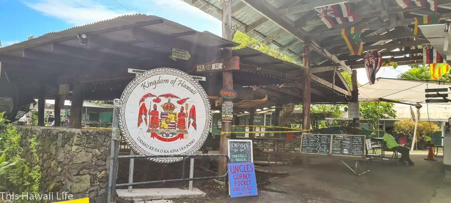 Uncle Roberts, a Kava and bar at Kaimu