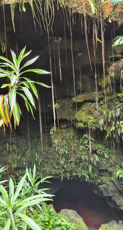Details to visiting Kaumana Caves