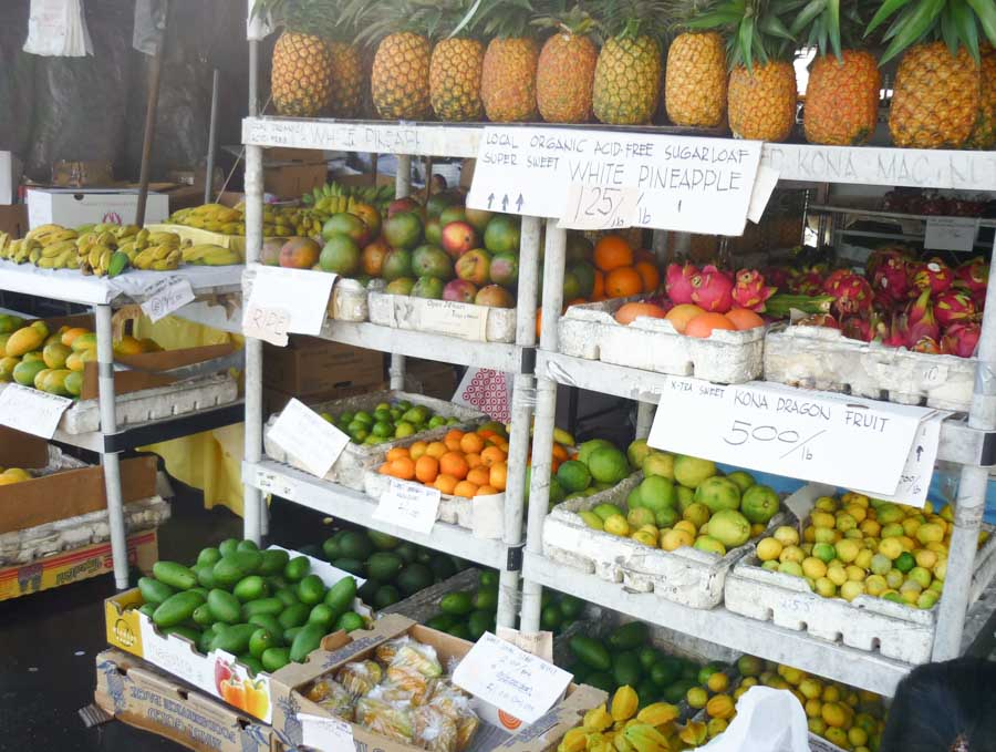 The Kona Farmers Market