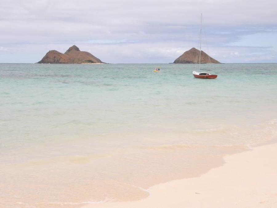 Where is Lanikai beach located?