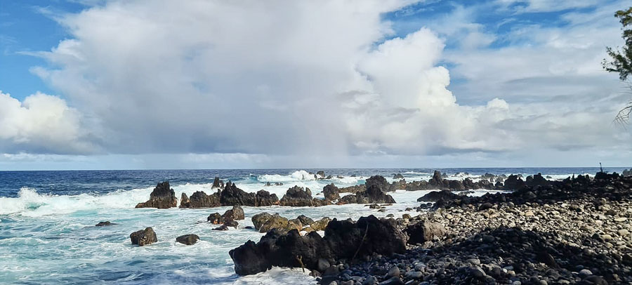 How to get to Lapahoehoe Point