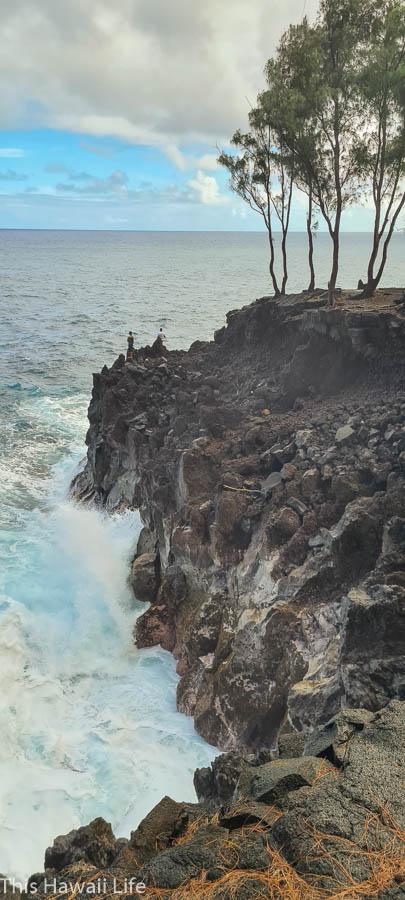 Mackenzie cliffs and coastline