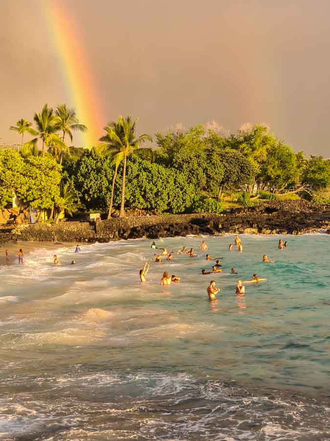 Where is Magic Sands Beach Located?