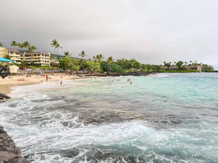 A gorgeous Magic Sands beach day in Kailua Kona