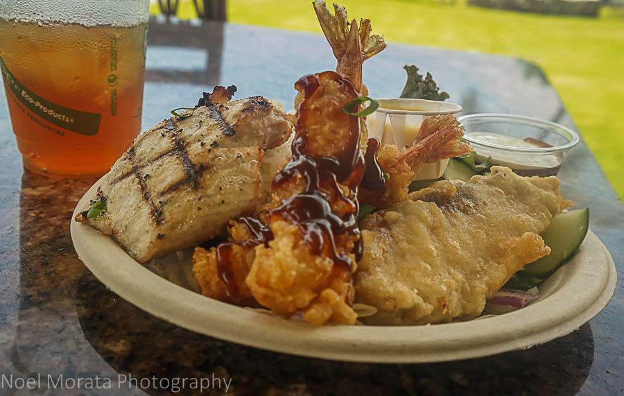 Popular Hawaiian food favorites from the Islands