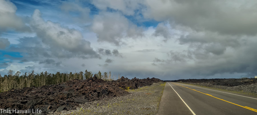 A new road to Kapoho and Four Corners area