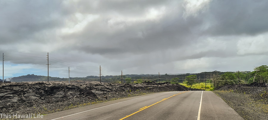 Recent Lava History to Lower Puna