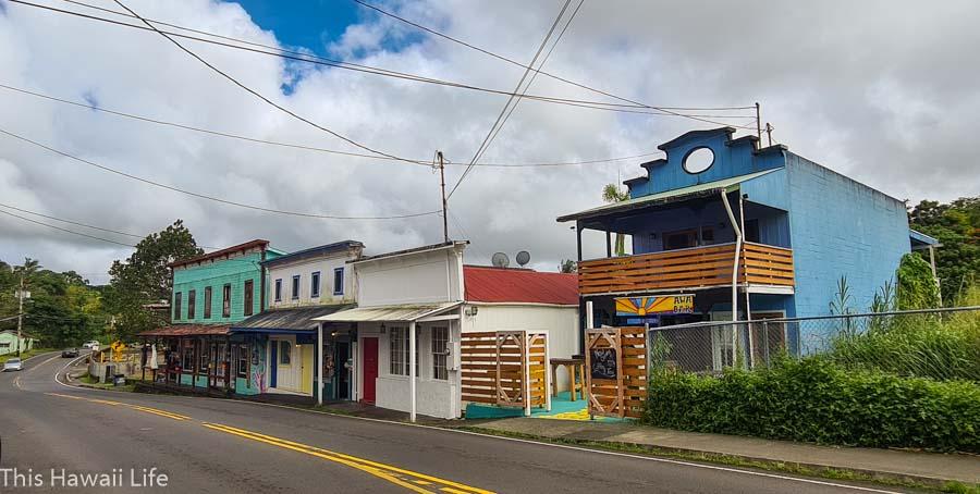 Explore Pahoa town