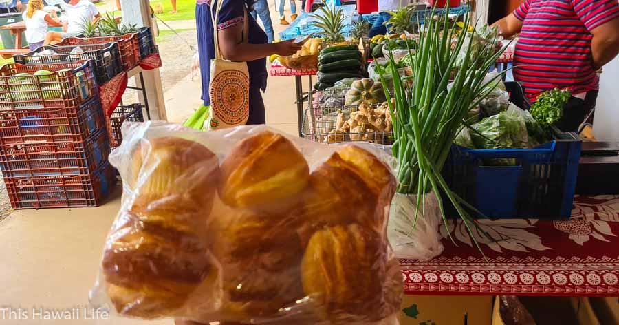 Farmers markets around the Big Island