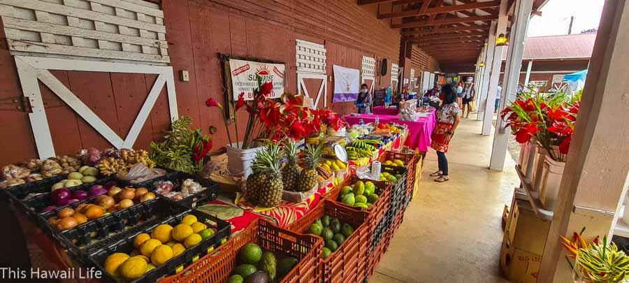 Kamuela Farmers Market at Pukalani Stables