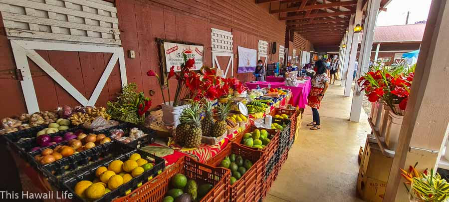 Shop at all the local farmers markets in town