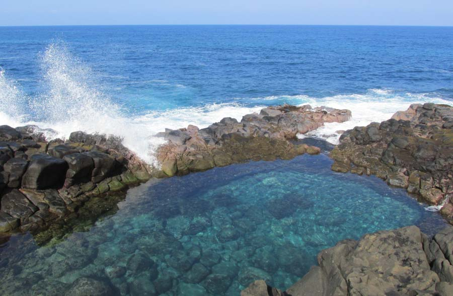 Have you visited the Queen's Bath Kauai?