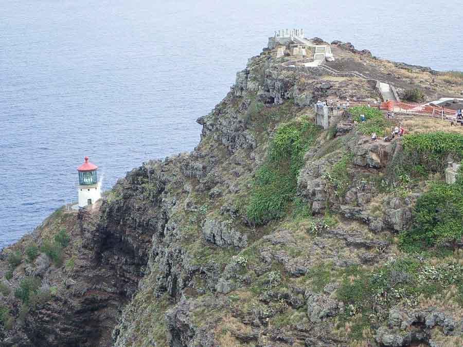 Makapu'u Lighthouse and trail