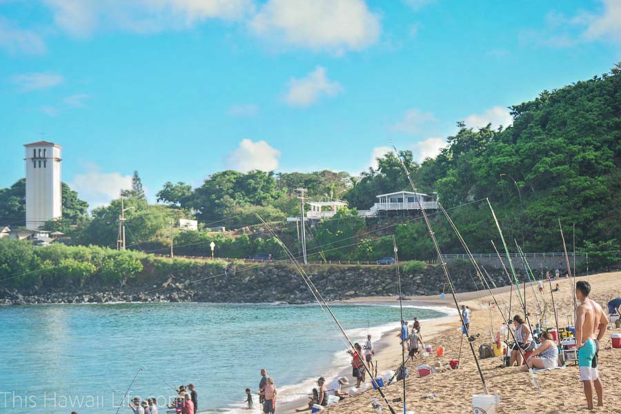 Waimea Bay for beach, surf, snorkel and outdoor adventure fun on the North Shore