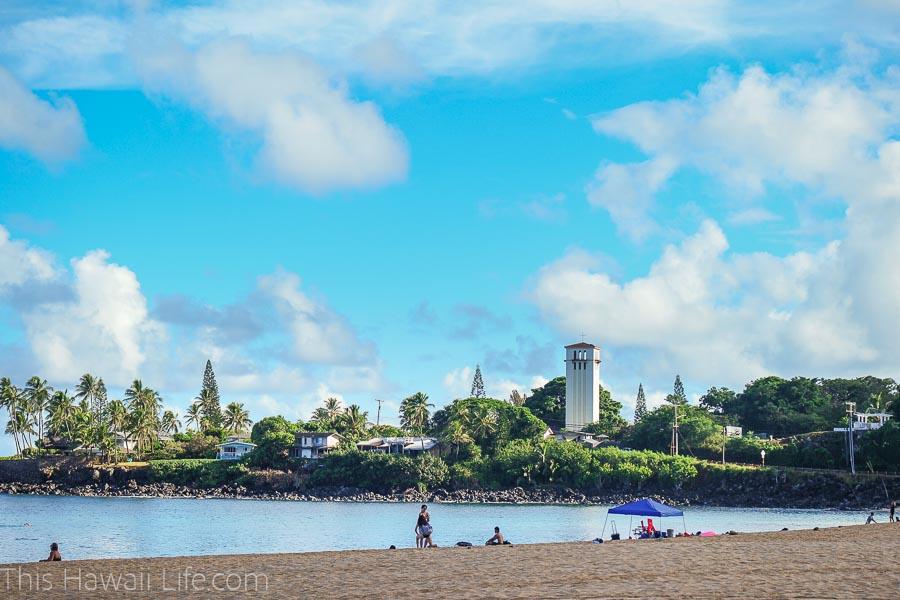 Enjoy the most family friendly beach at Waimea Bay
