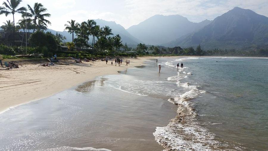 Relax at Hanalei Beach