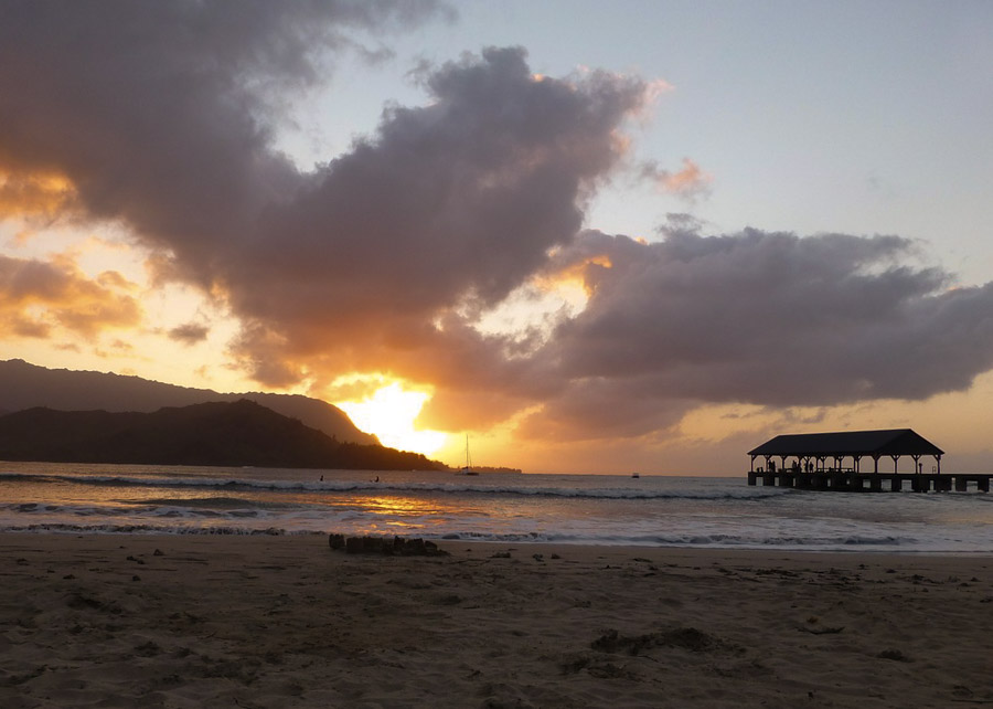 Where is Hanalei located?